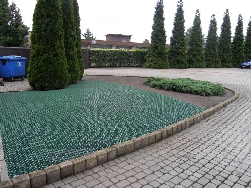 geosyntetyczna kratka trawnikowa białystok